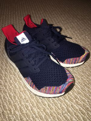Adidas Ultraboost LTD sz 8.5 (collegiate navy/vivid red) for Sale in South San Francisco, CA
