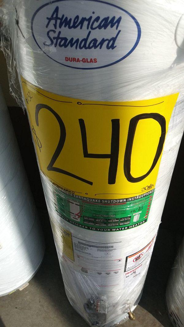 WATER HEATERS 30, 40 y 50 gls