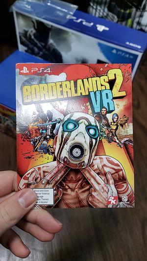 Borderlands 2 VR PS4 for Sale in Renton, WA