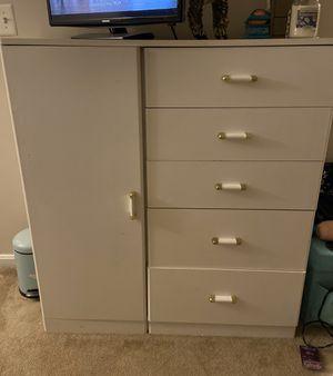 White dresser for Sale in Fairfax, VA