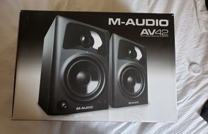 M-Audio AV42 multimedia monitor speakers for Sale in San Jose, CA