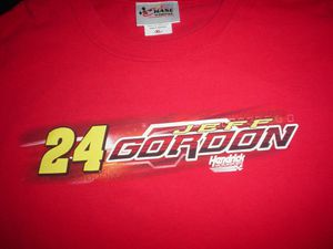 JEFF GORDON Nascar Racing #24 Car Signature Dupont Chevy Impala 2010 XL T SHIRT for Sale in Chicago, IL