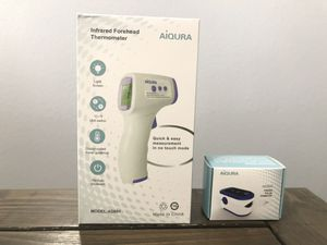 Bundle! FDA Infrared Thermometer and Pulse Oximeter for Sale in Las Vegas, NV