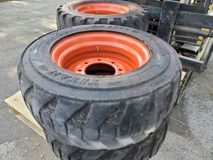 Bobcat skid steer tires and wheels for Sale in Wayne, IL