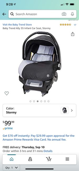 Baby Trend Ally Infant Car Seat & Base for Sale in Morrow, OH
