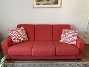 "Wayfair; Swiger 87"" Square Arm Sleeper Couch for Sale in Los Angeles, CA"