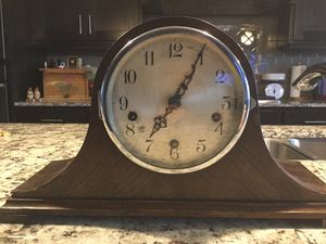 Antique British mantel clock for Sale in Vancouver, WA