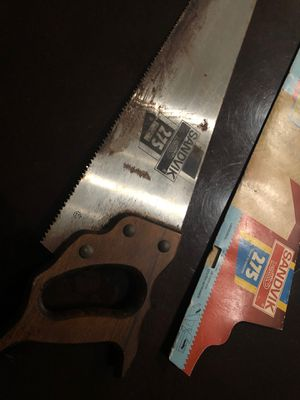 Sandvik vintage 275 6t/7p hand saw for Sale in Pompano Beach, FL