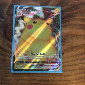 Pikachu Vmax Pokemon Card for Sale in Oakland, CA