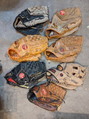 Baseball gloves 123xyz for Sale in Aurora, CO
