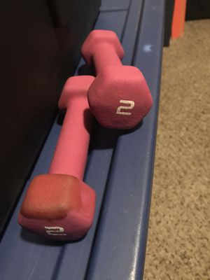 Two 2-LBS Weights for Sale in Lubbock, TX