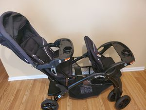 Baby Trend - sit N stand double stroller for Sale in Alexandria, VA