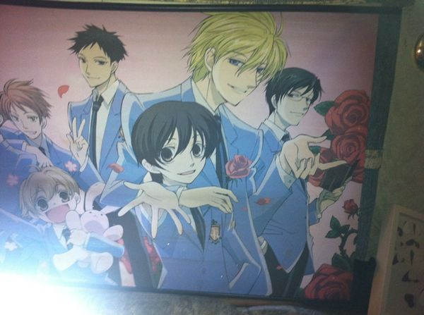 Ouran High Achool Host Club scroll