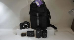 Canon 80D + 2 Lens + New Bag All New!!! for Sale in Miami, FL