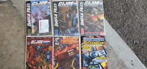 G.I. Joe Battle Files, Transformers The War Within comics for Sale in Glendale, CA