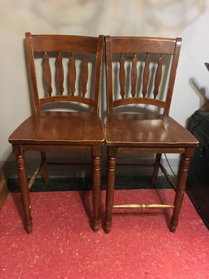 Set of 2 dining chairs/stools for Sale in West Covina, CA