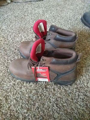Mens steel toe work boots for Sale in Hemet, CA