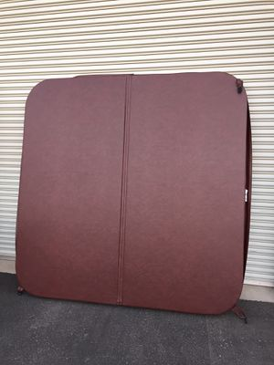 "New Brown 87"" X 87"" Hot Tub/Spa Cover for Sale in Fresno, CA"