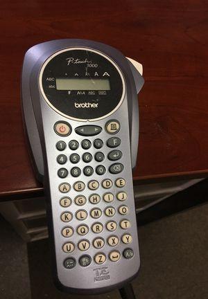 Brother PT-1000 Handheld Labeler for Sale in Las Vegas, NV