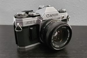 Canon AE-1 w/ 50mm f1.8 FD Lens for Sale in Downey, CA