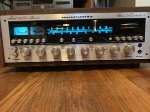 MARANTZ 4270 Stereo 2 quadradial 4 receiver with wood case for Sale in Los Angeles, CA