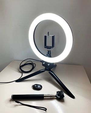 """NEW $25 LED 8"""" Ring Light for Sale in Downey, CA"""