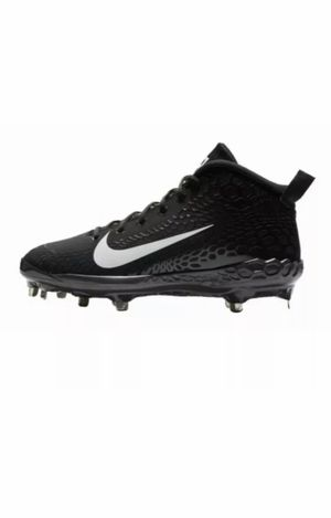 NWOB Nike Force Zoom Trout 5 Mens US 11.5 Cleat AH3372-010 Black White BASEBALL New without box for Sale in Buckhannon, WV