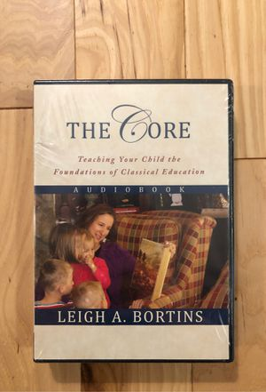 NEW, SEALED Classical Conversations Homeschool 'The Core' by Leigh Bortins AUDIOBOOK for Sale in Renton, WA