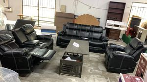 3 Pcs Recline Sofa Set Brand New (WE DO FINANCE THROUGH SNAP - WESTCREEK- PROGRESSIVE) for Sale in Houston, TX