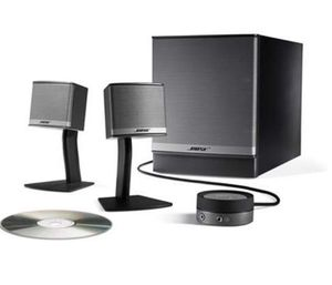 Bose Companion 3 Series II multimedia speaker system (Graphite/Silver) for Sale in Austin, TX