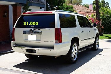 💚FOR SALE 🎁2OO8 Cadillac Escalade'Suv 🔥 Clean title $1,OOO for Sale in Portland,  OR