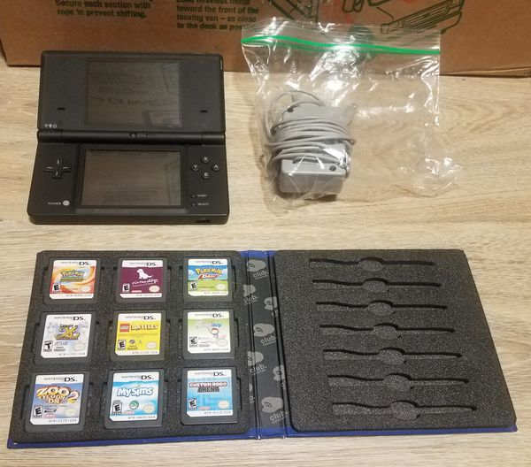 Nintendo DSi Console with 9 Games
