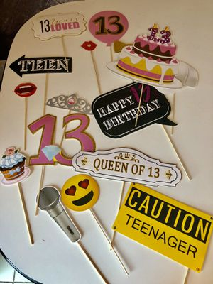 13th Birthday Photo Booth Prop for Sale in Miami, FL