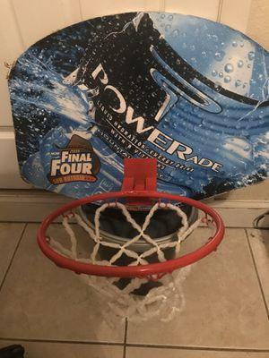 POWERADE BASKETBALL HOOP FOR DOOR OR WALL for Sale in DeBary, FL