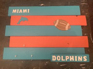 Miami Dolphins home decor. Great for Man cave or bar for Sale in Deerfield Beach, FL