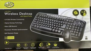 Wireless keyboard and mouse for Sale in Saratoga, CA