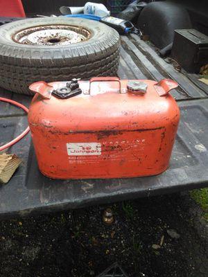 Evinrude/Johnson 6 gallon tank for Sale in Pittsburgh, PA