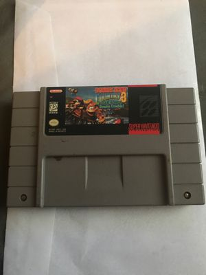 Donkey Kong 3 Super Nintendo for Sale in Baltimore, MD