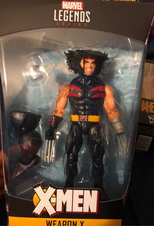 Marvel Legends Weapon X for Sale in Harrisburg, PA