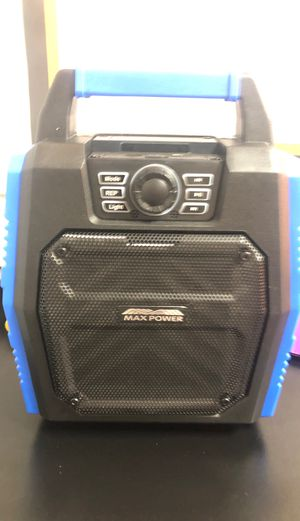 Wireless, Bluetooth speaker with Microphone and remote for Sale in GA, US