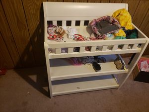 Baby changing table for Sale in North Ridgeville, OH