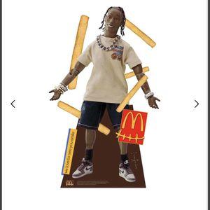 Travis Scott McDonald's action figure cutout for Sale in Tempe, AZ