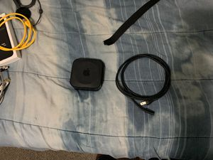 Apple TV 4th generation 32GB black for Sale in Tampa, FL