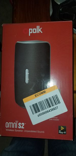Polk Wifi speaker for Sale in Port St. Lucie, FL