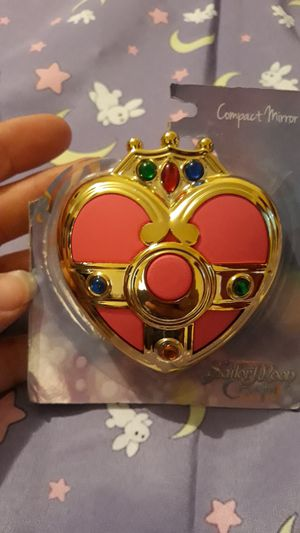 Sailor moon compact mirror for Sale in Glendale, AZ
