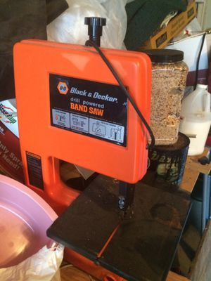 Black and decker table bandsaw for Sale in St. Louis, MO