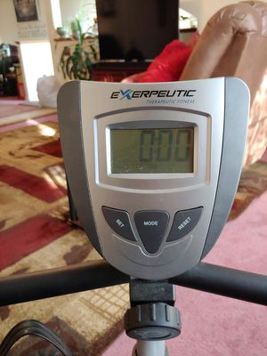 Recumbent Exercise Bike with Pulse for Sale in Saco, ME