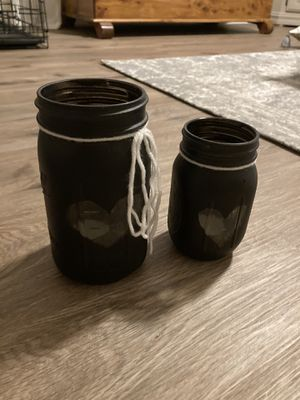 Mason jar tea light holders for Sale in Quincy, MA