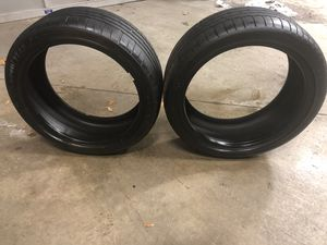 Goodyear 245 40ZR 25 95 runflat tires-Set of 2 for Sale in Apex, NC