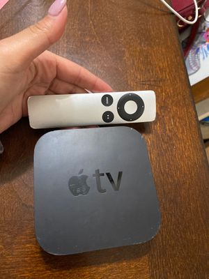 Apple TV with remote - $100 or best offer :) for Sale in Miami, FL